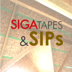 Sealing SIPs with SIGA